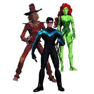 Batman Hush Scarecrow, Nightwing, Poison Ivy Action Figure Pack of 3