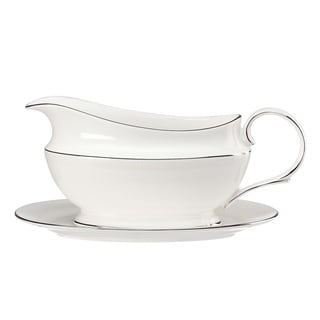 Lenox Tribecca Sauce Boat and Stand