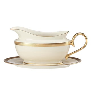 Lenox Lowell Sauce Boat and Stand
