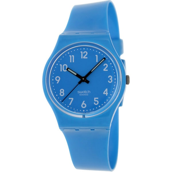 Swatch Men's Originals GS138 Blue Plastic Quartz Watch