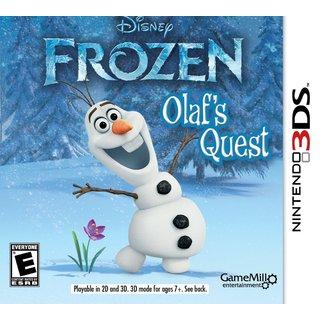 Nintendo 3DS - Disney Frozen: Olaf's Quest