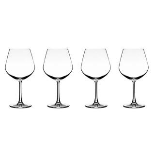 Vivere Burgundy Stemware (Set of 4)
