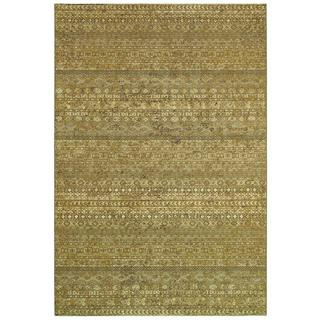 Cadence Overture/ Sage Grey-Multi Power-loomed Area Rug (7'10 x 10'9)