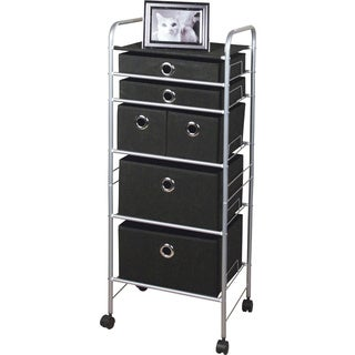 Richards Homewares 6-drawer Rolling Eyelet Cart