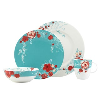 Lenox Chirp Floral 4-piece Dinnerware Place Setting