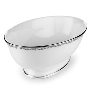Lenox Coronet Platinum Open Vegetable Bowl
