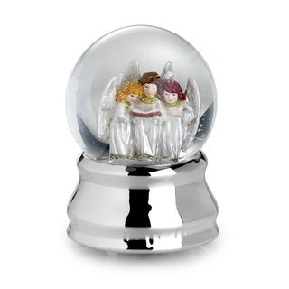 Towle Angel Choir Musical Snow Globe