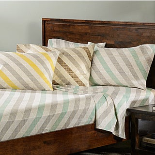 Marina 300 Thread Count Cotton Print Sheet Set