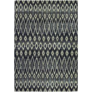 Easton Mirador/ Grey Power-loomed Area Rug (7'10 x 11'2)