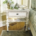 E. Providence White Single-drawer Nightstand