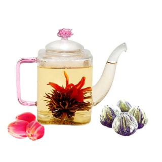 Tea Beyond Fab Flowering Tea Romeo Set