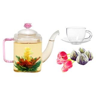 Tea Beyond Fab Flowering Jasmine Romeo Tea/ Cup Set