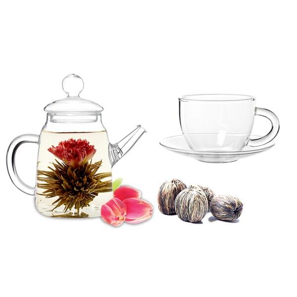 Tea Beyond Fab Flowering Tea DUO Cup Set 11843125