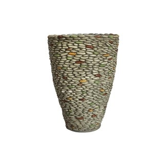 Laura Ashley Pebble Rock Fiberstone 21.5-inch Planter