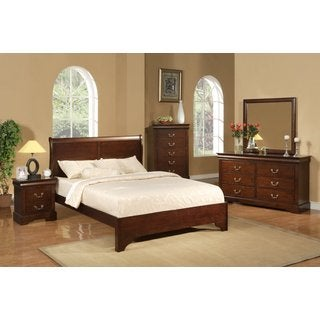 American Lifestyle West Haven 4-piece Sleigh Bedroom Set