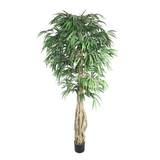 Laura Ashley 78-inch Willow Ficus with Multiple Trunks
