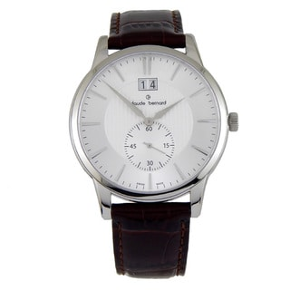 Claude Bernard Men's Classic Gents Silvertone Watch