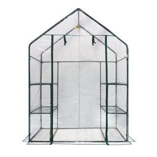 oGrow Deluxe 6-Shelf Walk-in Portable Greenhouse