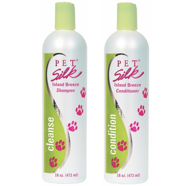Pet Silk Island Breeze Pet Shampoo/ Conditioner