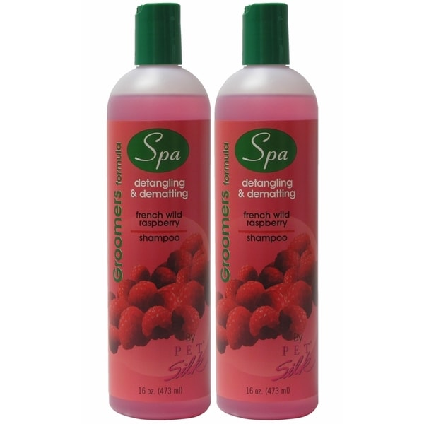 Pet Silk Groomers Spa Formula French Wild Raspberry Pet Shampoo