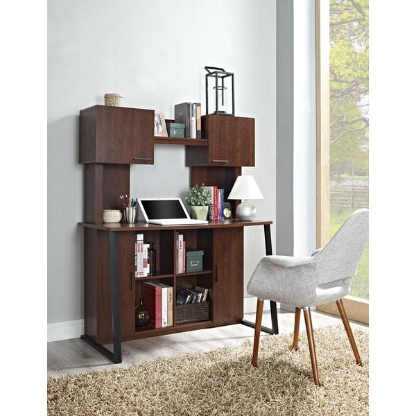Altra Contemporary Desk With Hutch