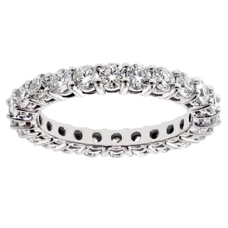 14k/ 18k Gold or Platinum 2 1/3ct TDW Diamond Eternity Band (F-G, SI1-SI2)