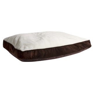 Animal Planet Plush Top Memory Foam Pet Bed (40 x 27 x 4)