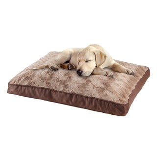 Animal Planet Swirl Top Memory Foam Pet Bed (40 x 27 x 4)