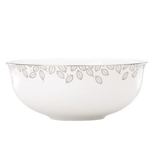 Lenox Platinum Leaf Serving Bowl