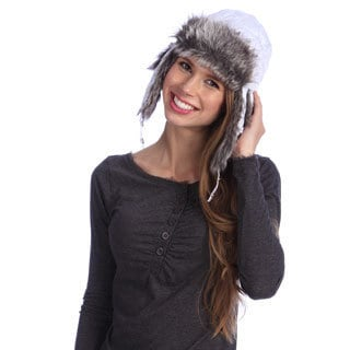 Chaos Women's Quilted Sateen Trapper Hat