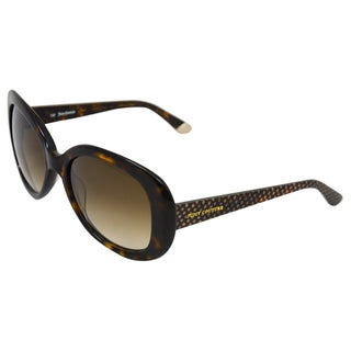 Juicy Couture 'Juicy 517/S 0086' Dark Havana Oversize Sunglasses