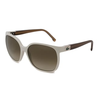 Lacoste Women's L508S Rectangular Sunglasses with 100 Percent UV Protection