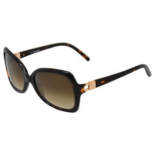 Juicy Couture 'Halo/S 0086' Tortoise Rectangular Sunglasses