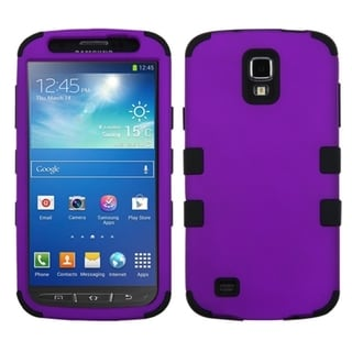 BasAcc Grape/ Black TUFF Hybrid Case for Samsung i537 Galaxy S4 Active