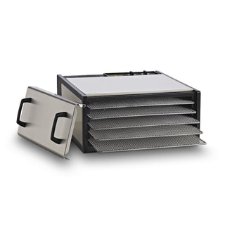 Excalibur Dehydrator 5-Tray Stainless Steel with Timer