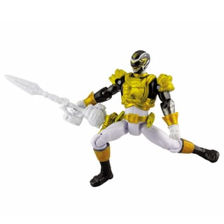 Bandai Power Rangers Metallic Force Ultra Black Ranger