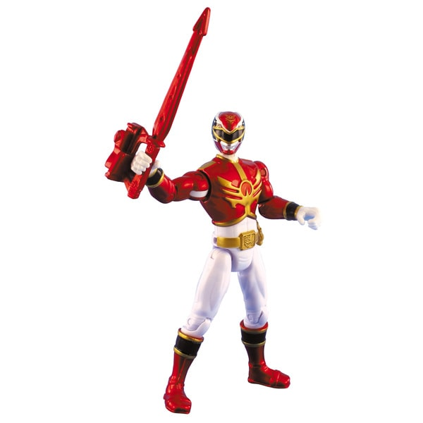 Power Rangers Metallic Red Ranger 4-inch Action Figure 11844635