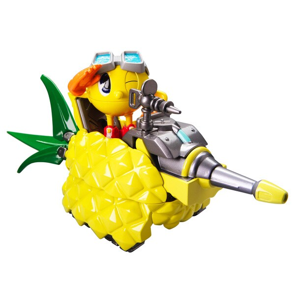 Bandai Pac-Man Transforming Pac's Pineapple Tank 11844648