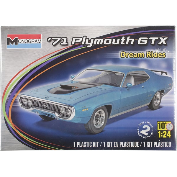 Revell 1971 Plymouth GTX Plastic Model Kit