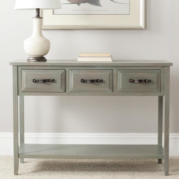 Safavieh Aiden Antique Grey Console Table