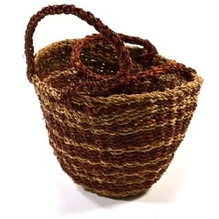 Handwoven Wave Basket (Bangladesh)