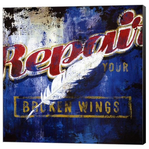 Rodney White 'Repair Your Broken Wings' Canvas Art