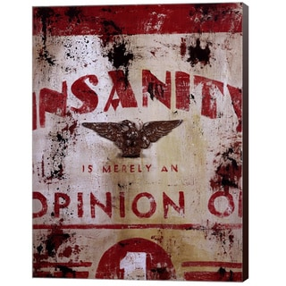 Rodney White 'Insanity' Canvas Art
