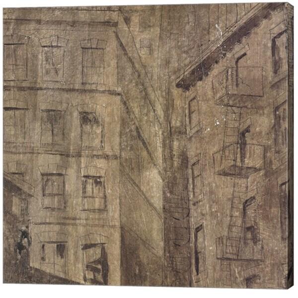 Peter Kuttner 'Facade II' Canvas Art