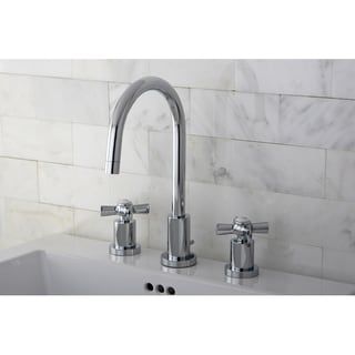 Mini-widespread Polished Chrome Bathroom Faucet