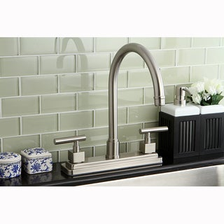 Satin Nickel 8-inch Kitchen Faucet