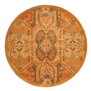 EORC Hand Tufted Wool Piazza Rug (7'9 Round)