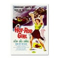 Vintage Apple Collection 'Hot Rod Girl' Canvas Art