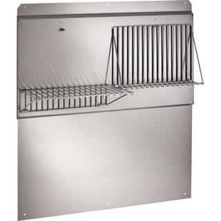 Broan RMP3004 30-inch Wide Professional Style Backsplash with Fold Down Racks