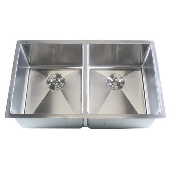 Stainless Steel Undermount Kitchen Sink Double Bowl